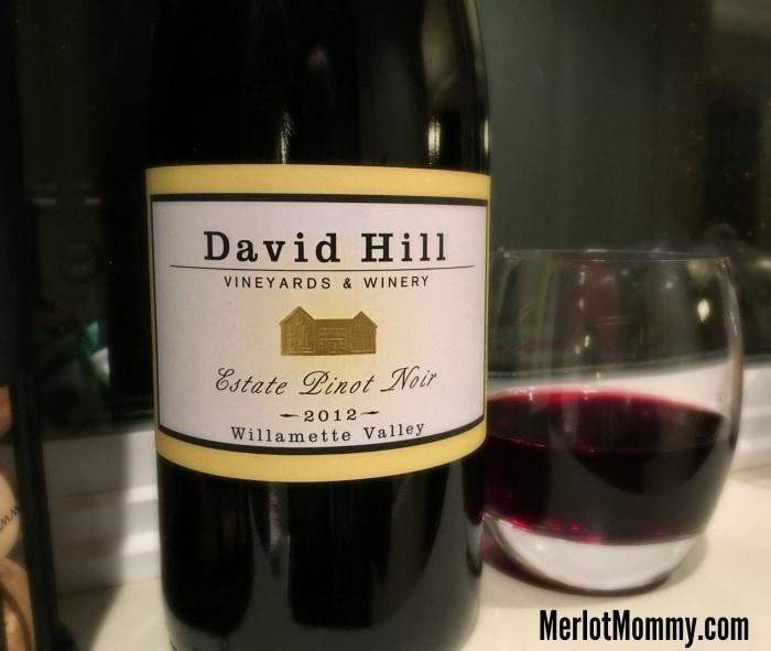 David Hill Vineyard 2012 Estate Pinot Noir