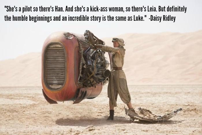 Daisy Ridley: Rey, the Next Luke Skywalker