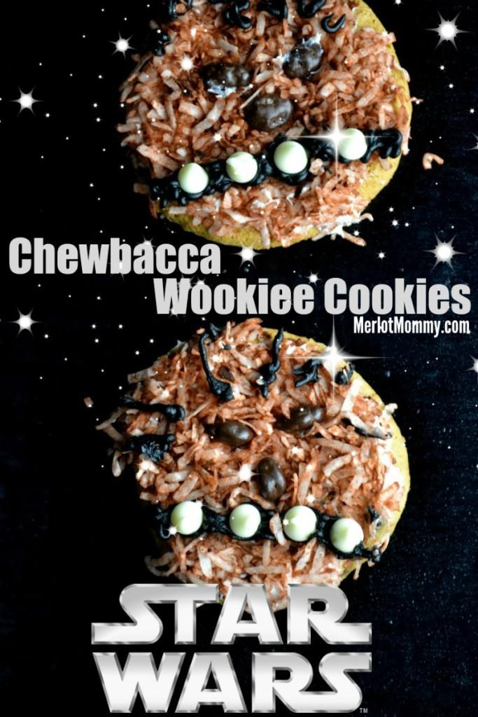 Star Wars Chewbacca Wookiee Cookies