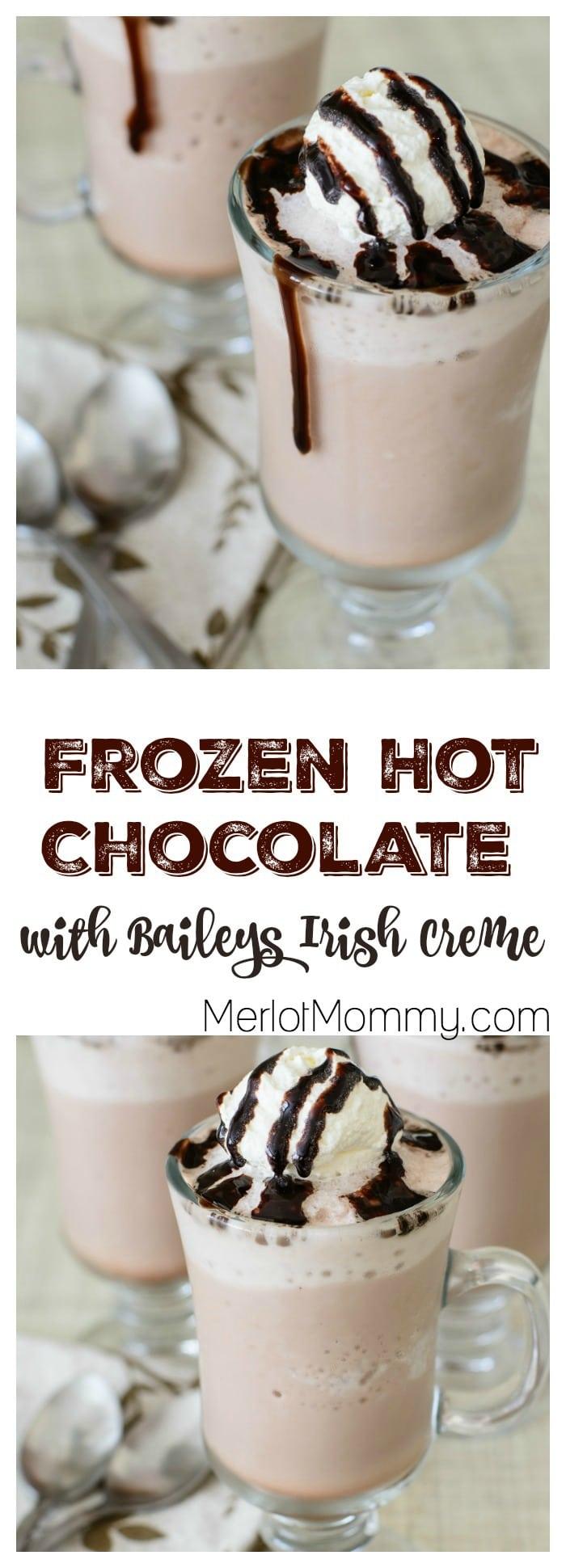 Game of Thrones-Inspired Frozen Hot Chocolate with Baileys Irish Creme