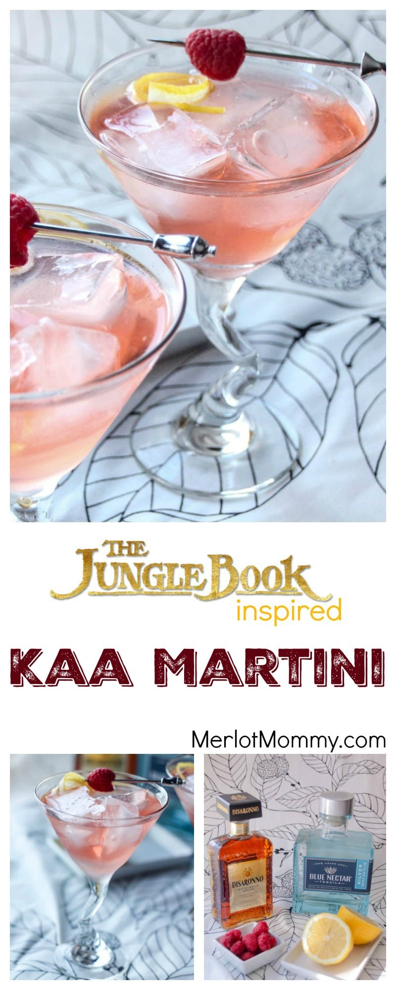 Kaa Martini: Disney's Jungle Book Inspired Cocktail