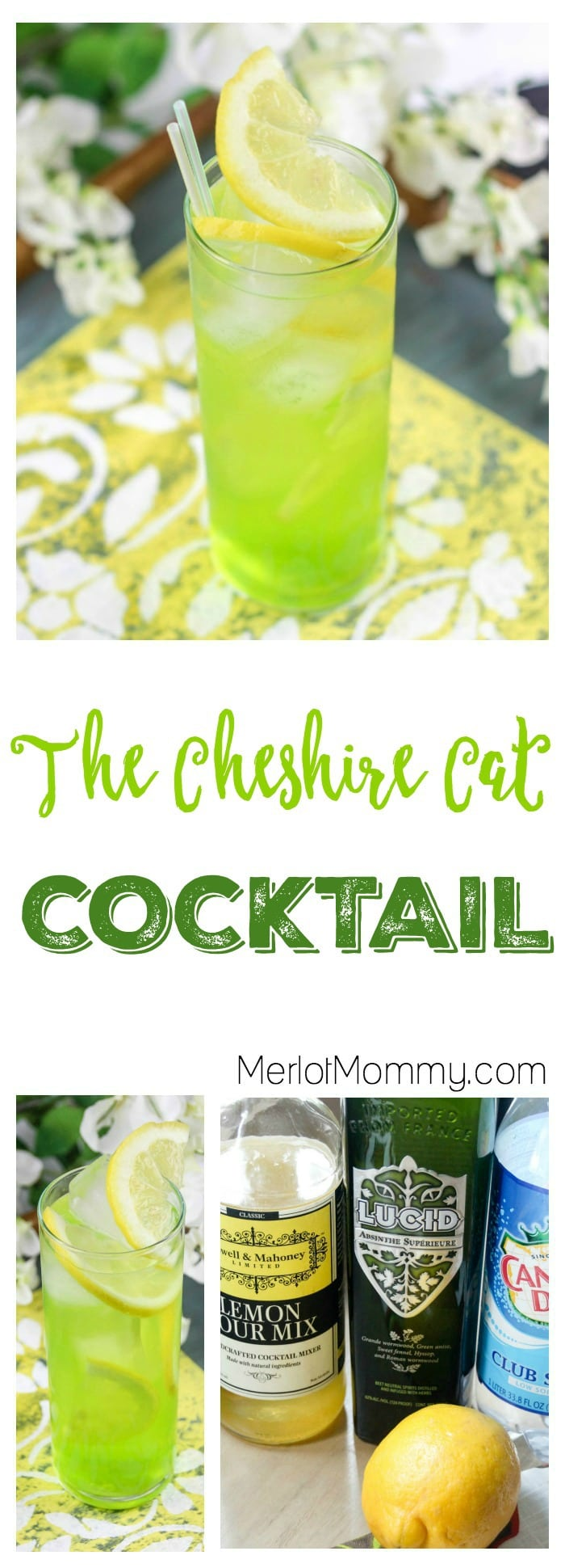 The Cheshire Cat Cocktail, Disney's Alice Through the Looking Glass-Inspired Drink Recipe