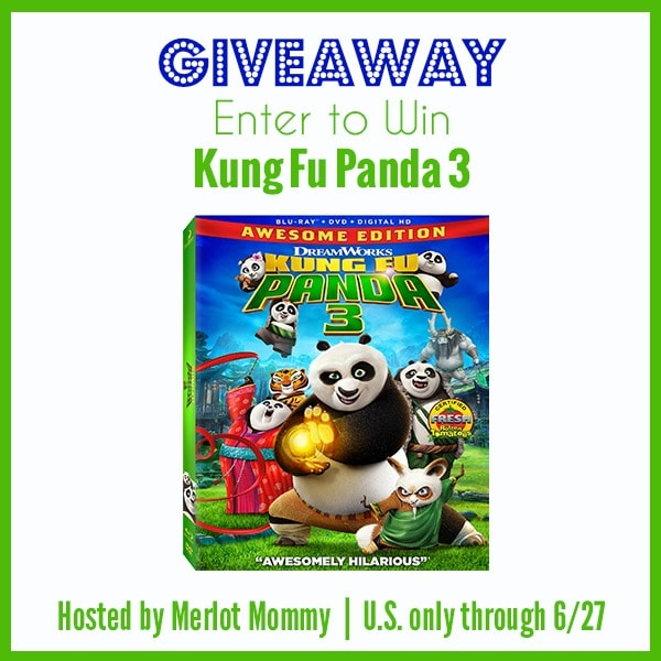 Kung Fu Panda 3 Giveaway + Activity Pages