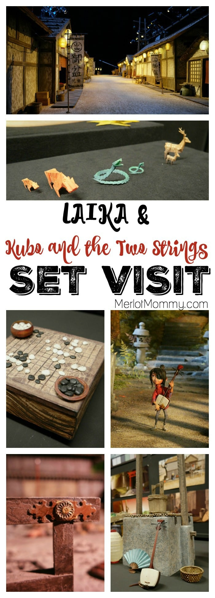 A Visit to LAIKA and the Set of Kubo and the Two Strings