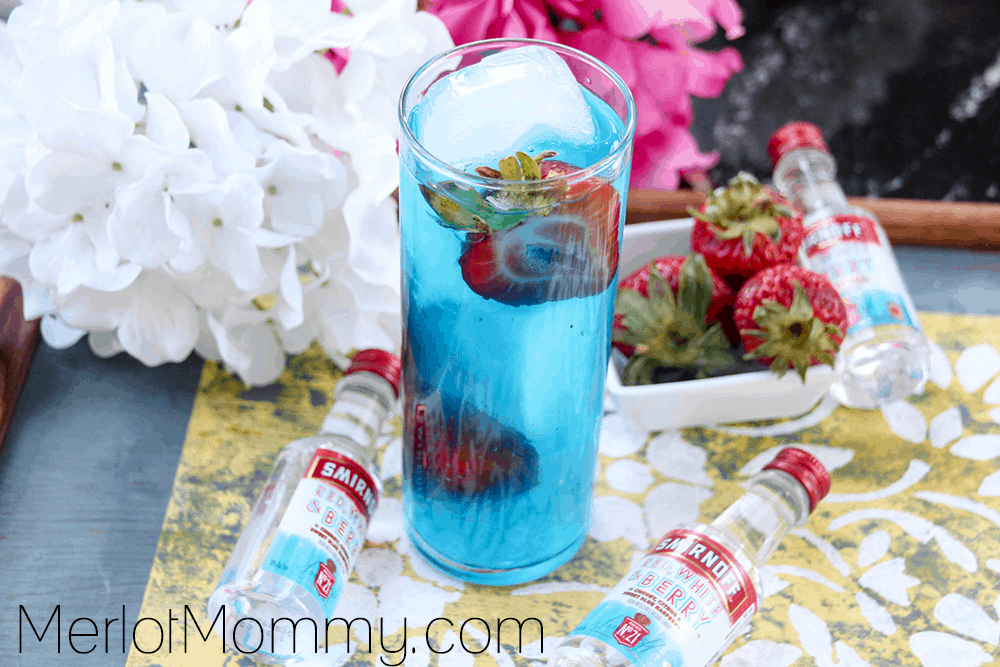 Cool Blue Berry Lemonade