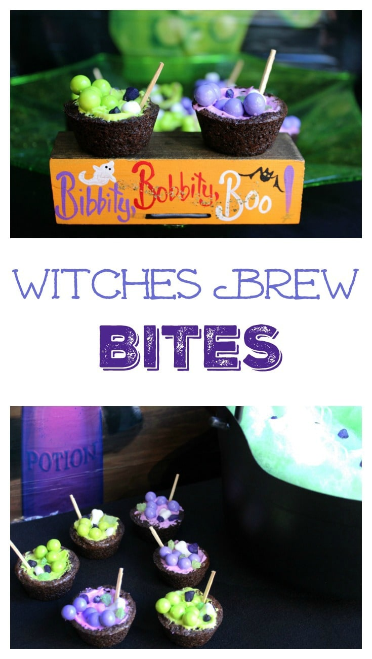 Witches Brew Bites Pin