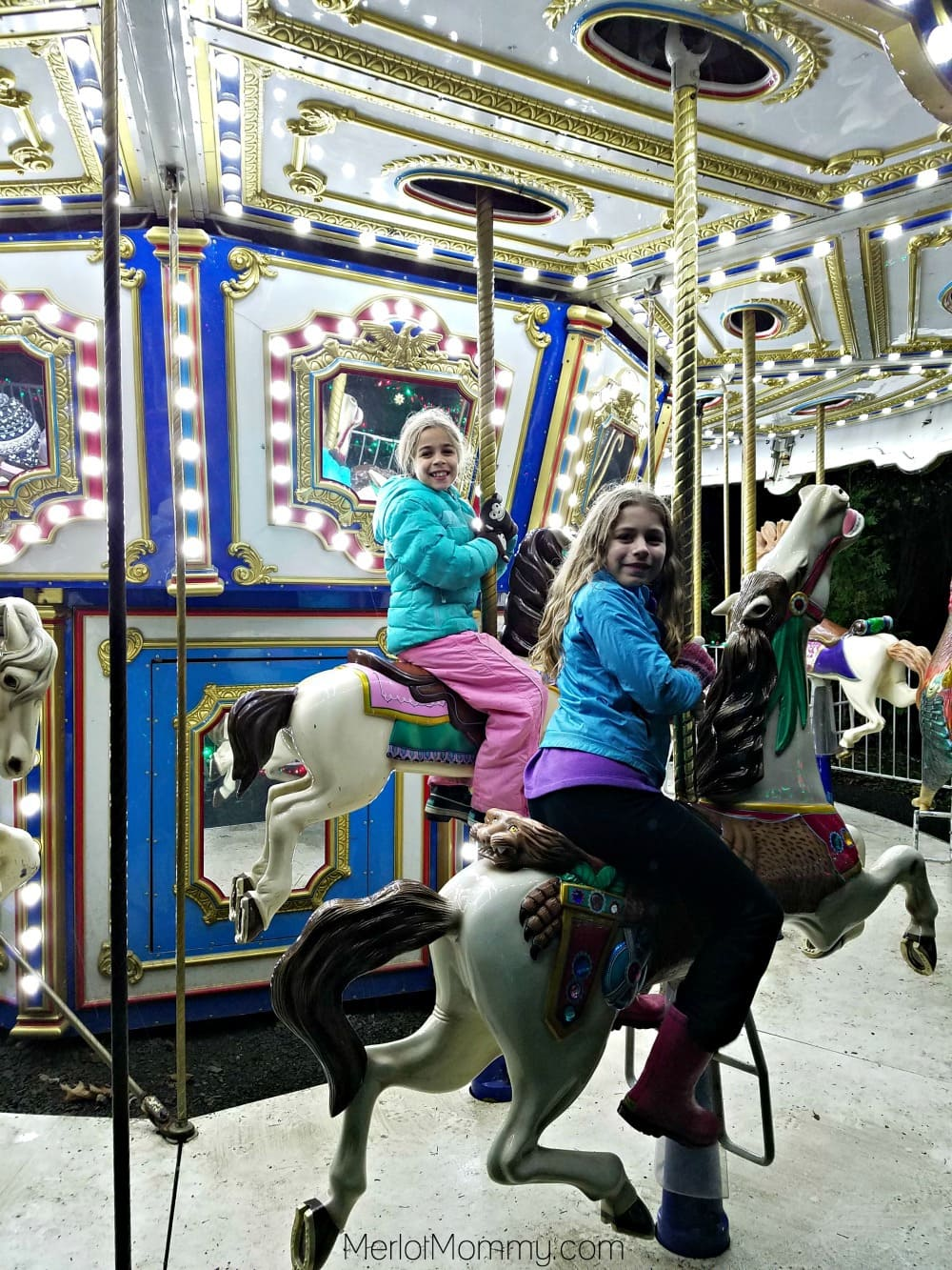 2016 Zoolights at the Oregon Zoo - Carousel