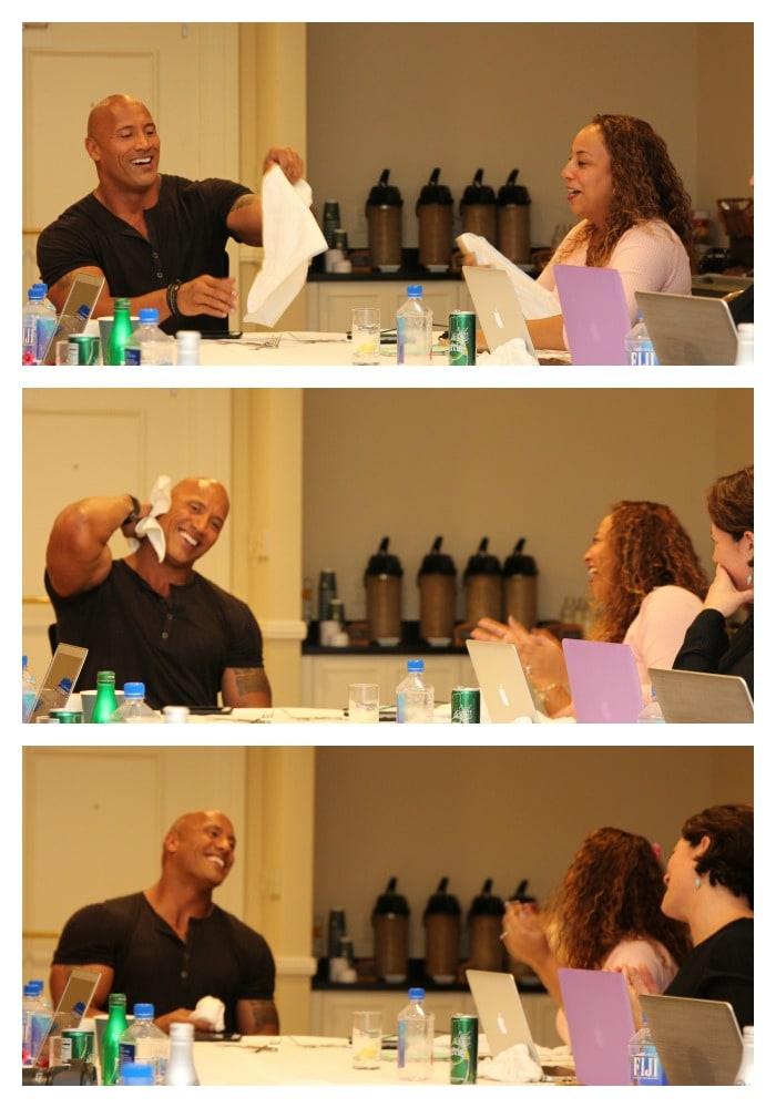 Dwayne Johnson Moana Interview