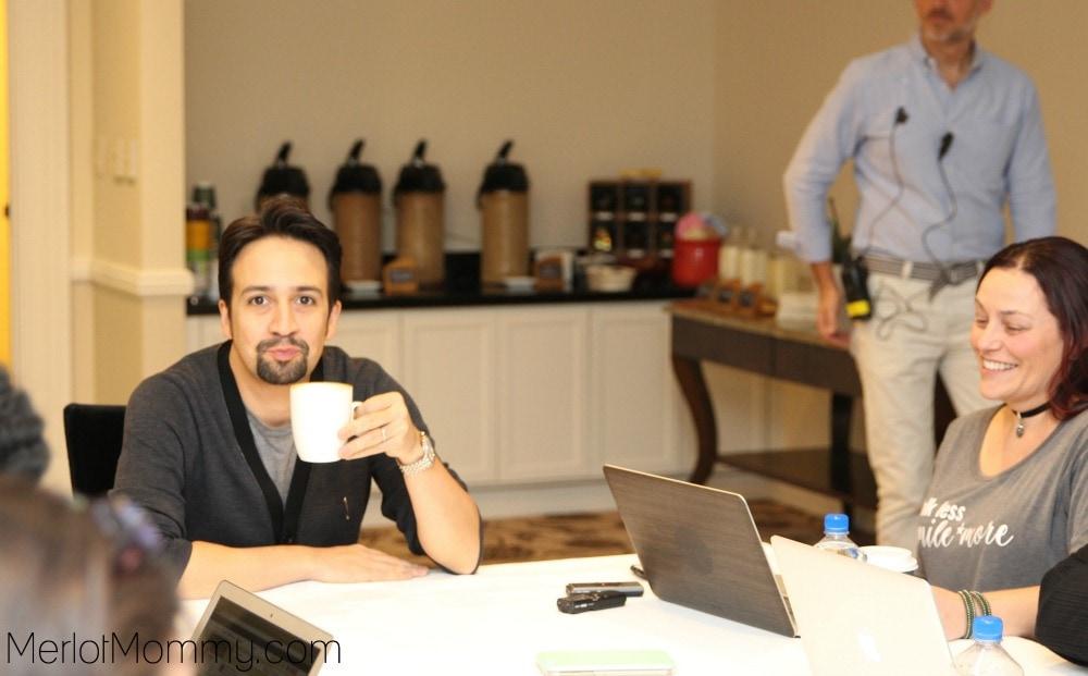 Exclusive Interview Lin-Manuel Miranda Moana Movie