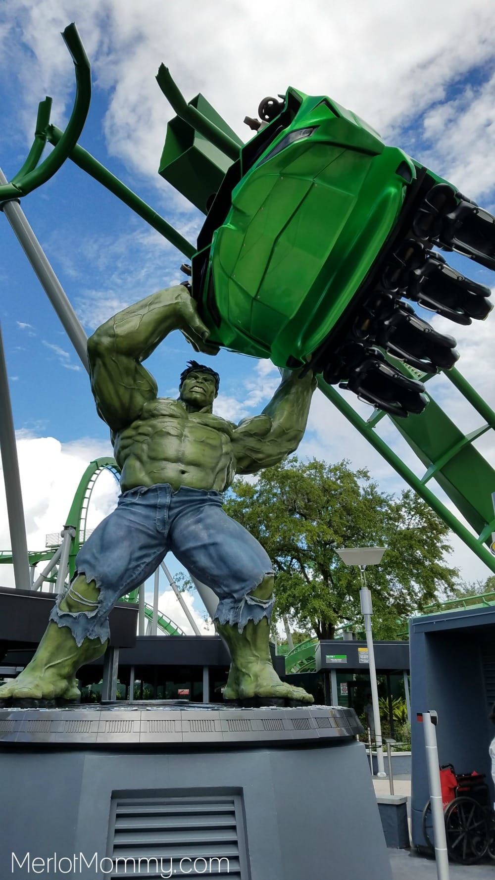 The Incredible Hulk Coaster at Universal Islands of Adventure, The Best Rides for Teens at Universal Orlando Resort