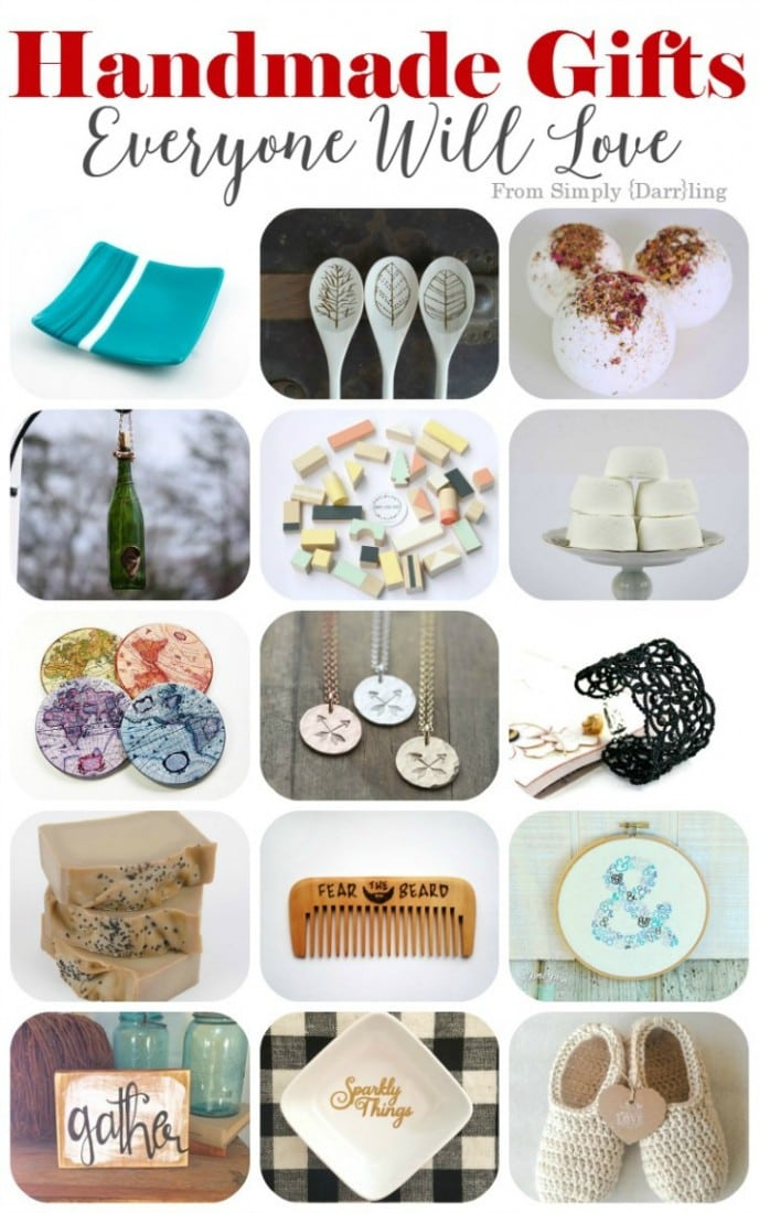 1000 Gift Ideas for Everyone on Your List - Handmade Gifts