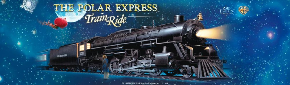 Ride the Polar Express Train Ride on the Mt. Hood Railrood