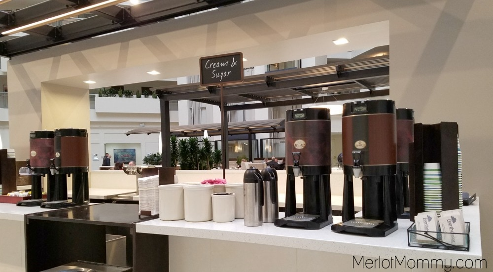 Embassy Suites by Hilton Seattle-Tacoma International Airport coffee bar