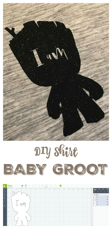 DIY Baby Groot Shirt