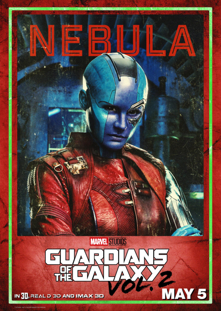 Guardians of the Galaxy Karen Gillan as Nebula