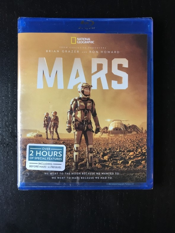 National Geographic MARS on Blu-Ray + Packing List
