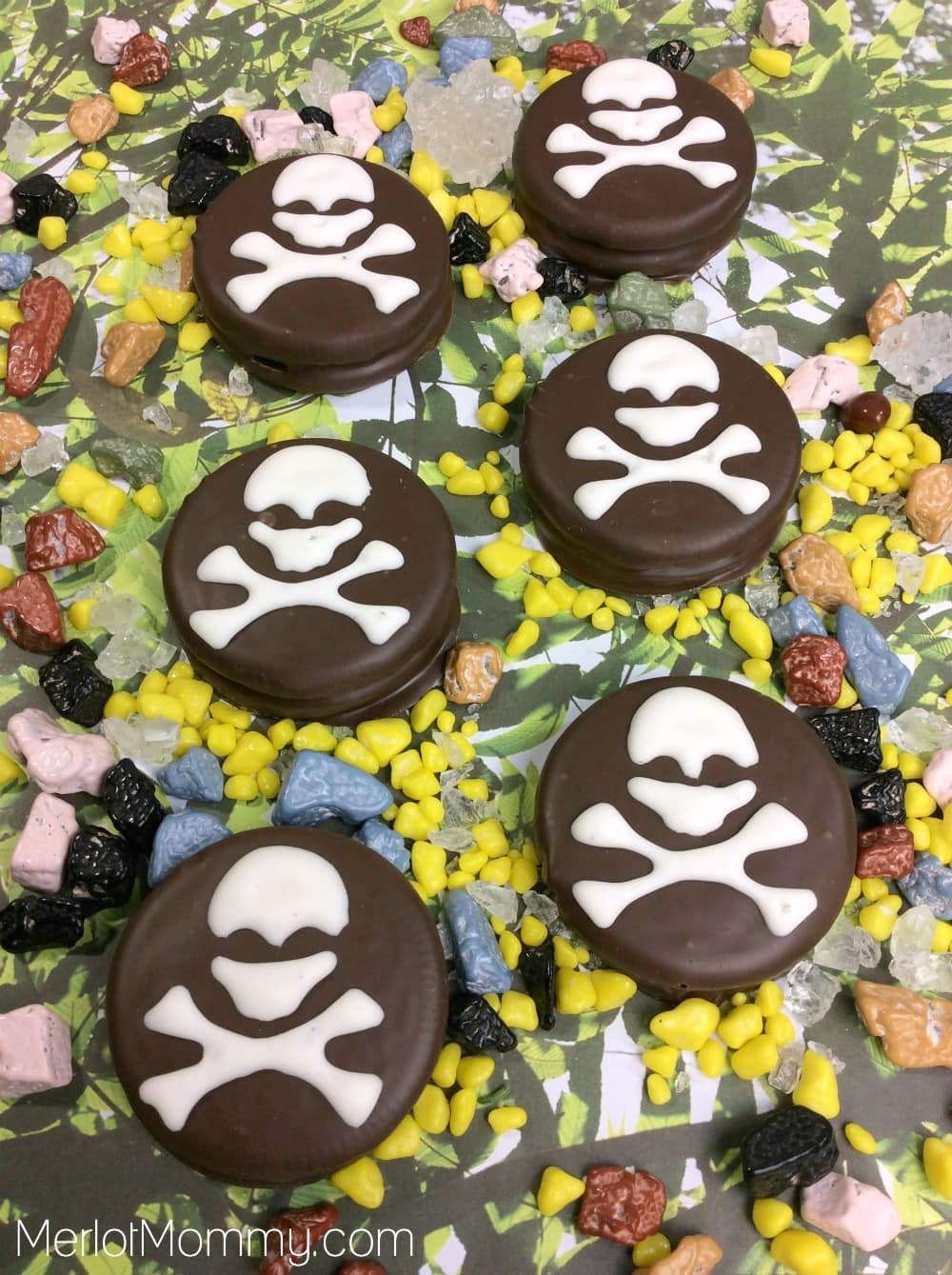 Pirate Dipped Cookies
