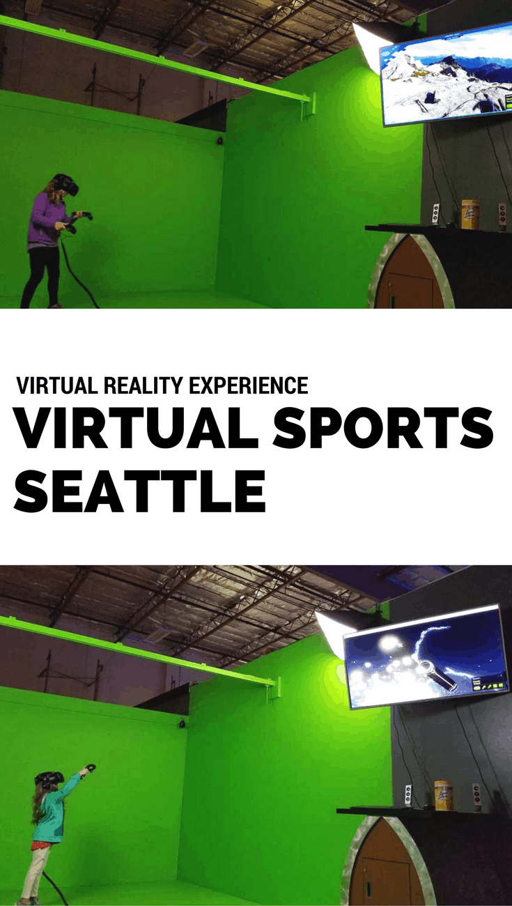Virtual Sports - Virtual Reality Experience Seattle Southside