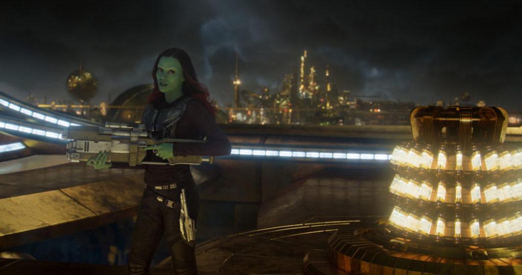 Exclusive Interview with Zoe Saldana as Gamora