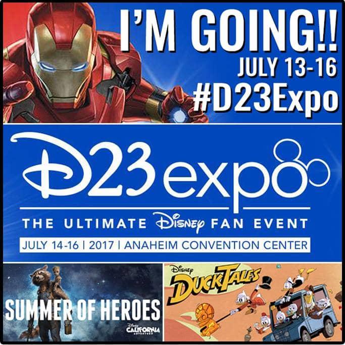 D23 Expo Button