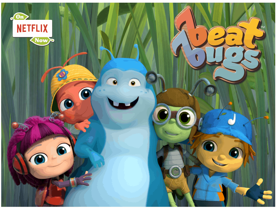 Meet the Beat Bugs on Netflix - Beat Bugs Dream Team