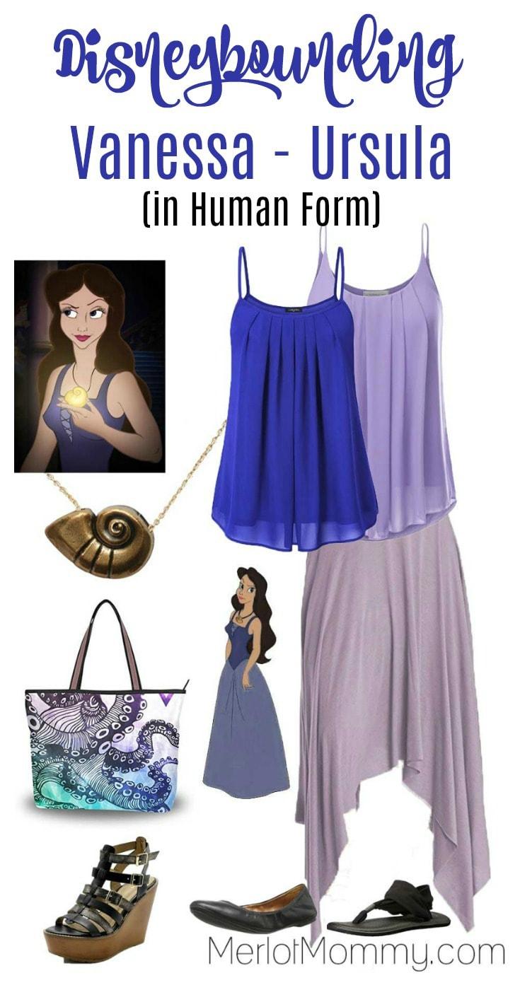 Disneybounding - Vanessa - Ursula in Human Form