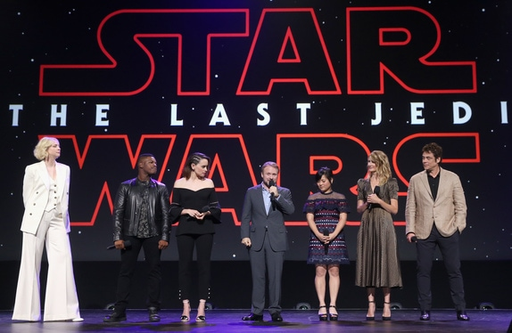 Upcoming Disney, Marvel Studios, and LucasFilm Live-Action Films - D23 Expo Recap - The Last Jedi