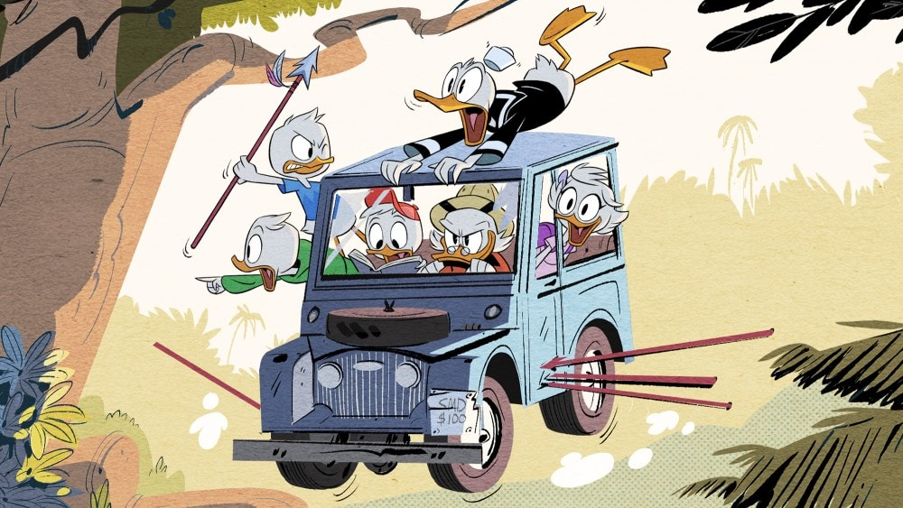 DuckTales Reboot Facts - Interview with Francisco Angones and Matt Youngberg - D23 Expo