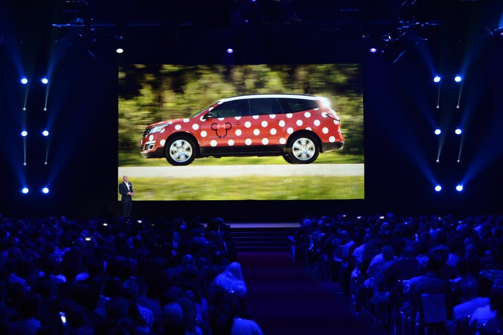The Future of Walt Disney Parks and Resorts - D23 Expo Recap Minnie Van