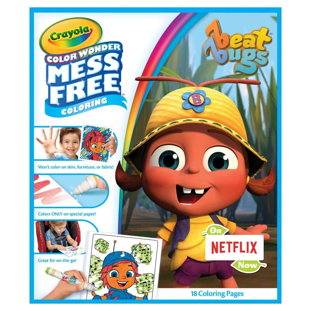 beat bugs character toys and books save beat bugs color wonder - Color Wonder Books