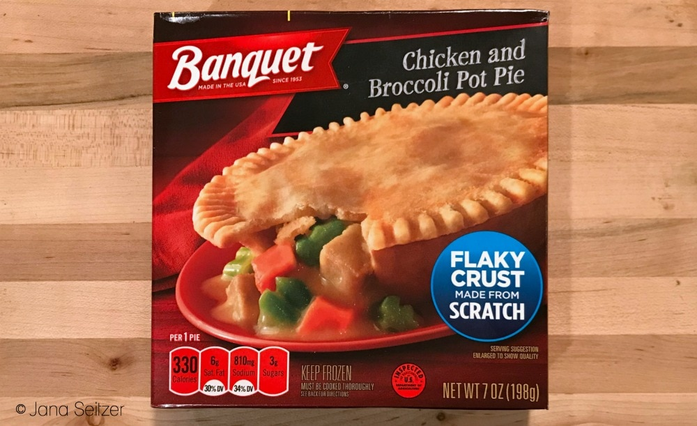 Celebrate Fall with Banquet Pot Pies - Chicken and Broccoli Pot Pie