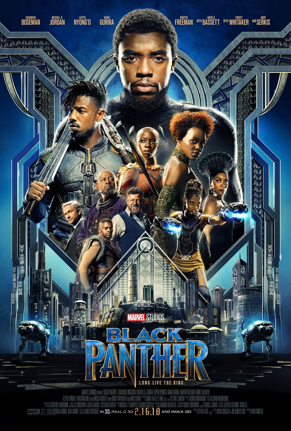 FIRST LOOK: New Poster for Marvel's Black Panther