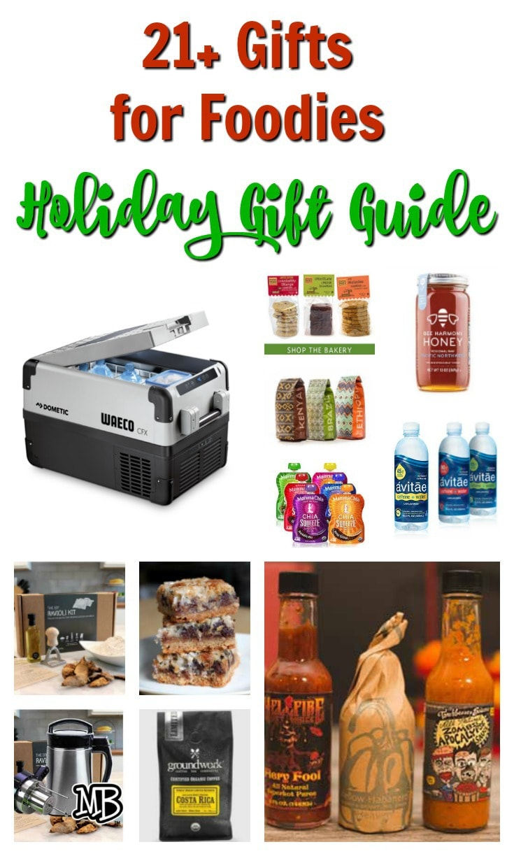 Last Minute Holiday Gifts Ideas - Gifts for Foodies