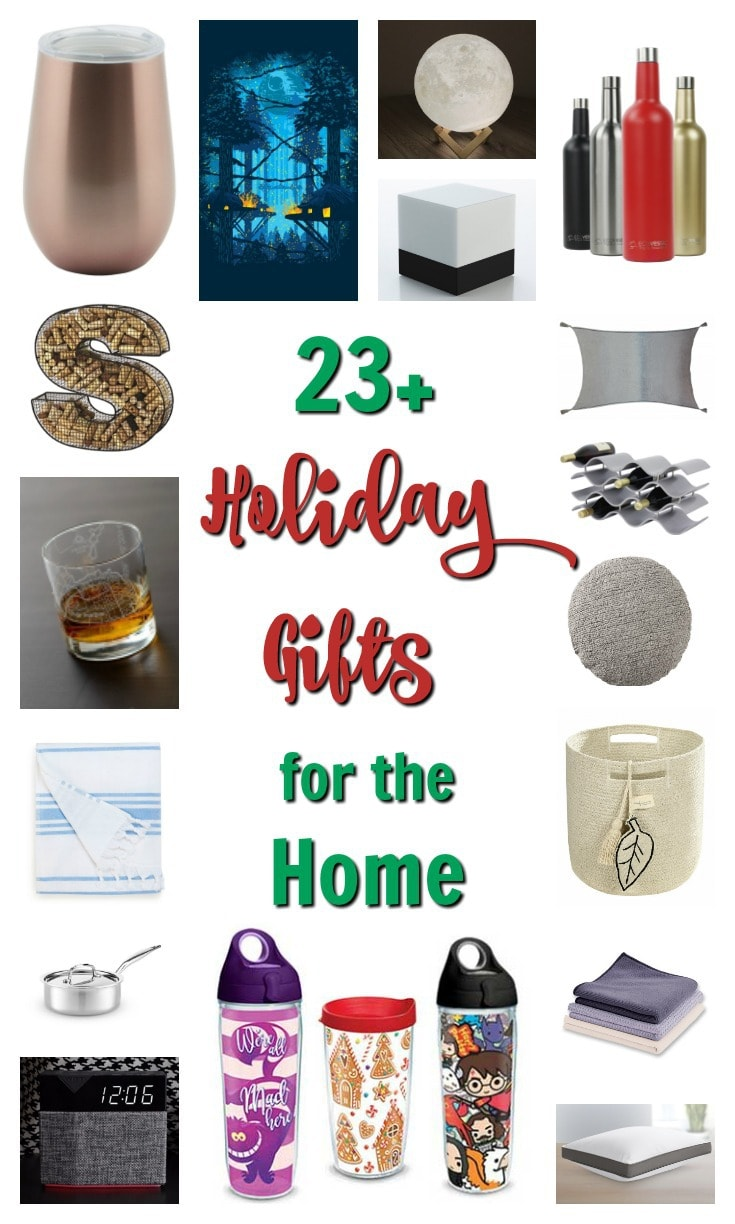 Holiday Gift Guide - Gifts for Home 2017