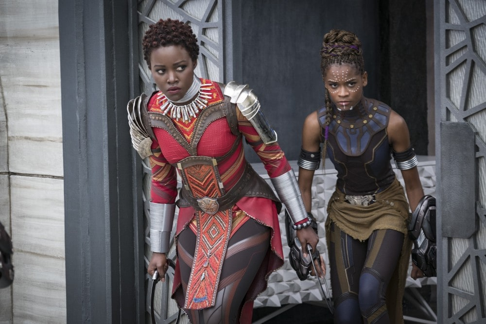 Everything You Need to Know About Infinity War - Black Panther Okoye and Shuri