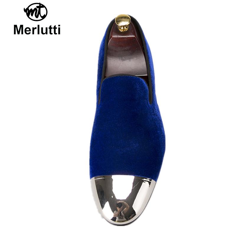 6889465a17785 Royal Blue Velvet Silver Metal Toe