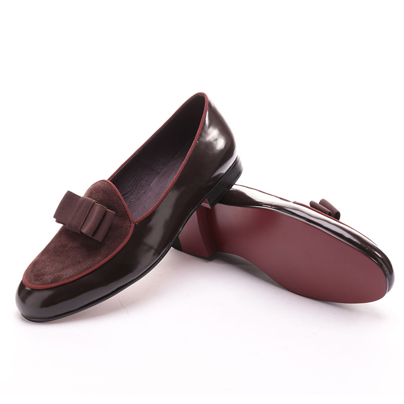 Brown Moccasin Bowtie