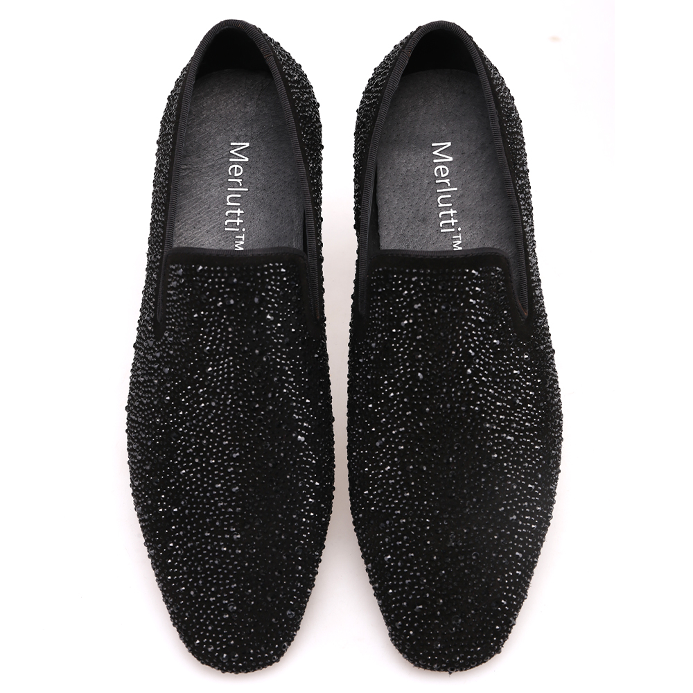 194e8ffc933 CRYSTAL SUEDE LOAFERS - Merlutti