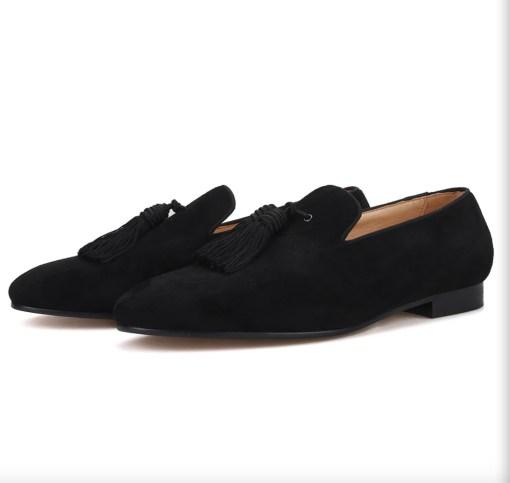 Big Tassel Suede Custom Loafer