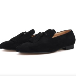 Big Tassel Suede Custom Loafer