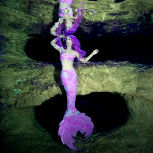 Become a mermaid with silicone mermaid tails from Mermaid Kat Shop