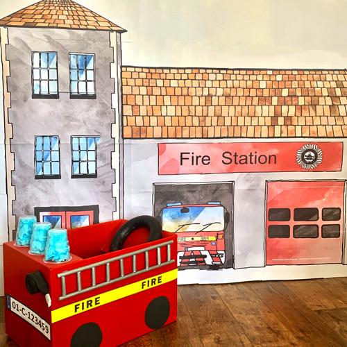 A Firestation poster