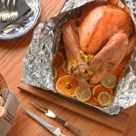 Citrus Brined Grilled Turkey