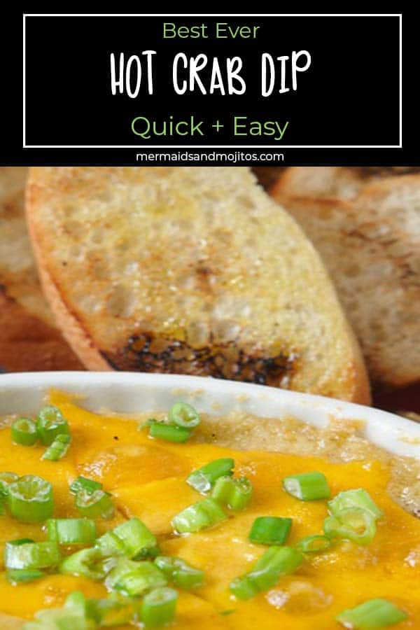 Quick and easy - best ever hot crab dip recipe