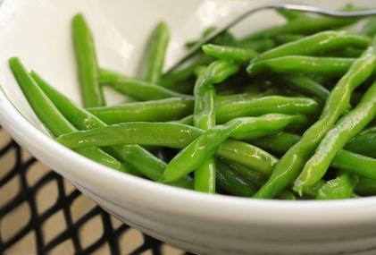 honey orange green beans green beans