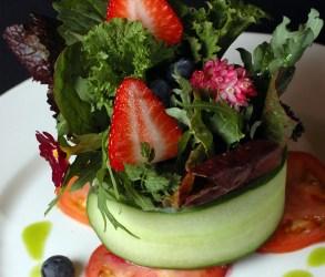 Simple Strawberry Summer Salad