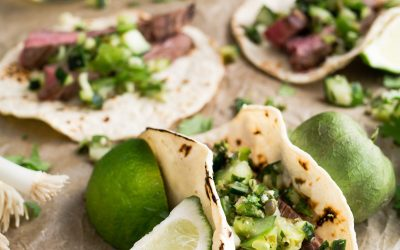 beef deshebrada tacos