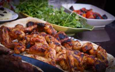 Simple and Easy Grilled Chicken Wings