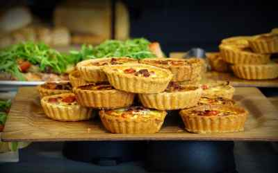 Quick and easy mini quiche