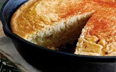 Easy Dutch Oven Cornbread | Camping Recipe